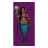 Society of Fat Mermaids Beach Towel