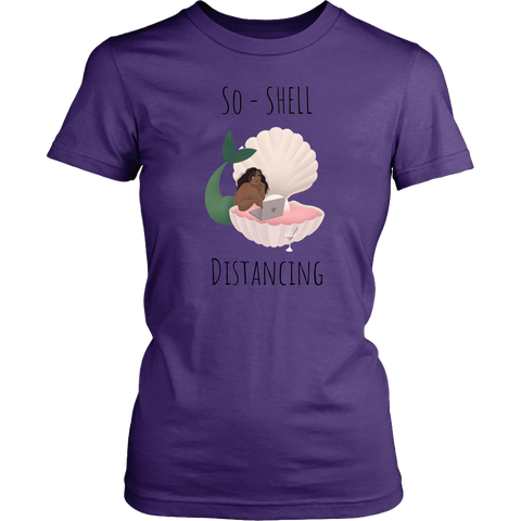 So-Shell Distancing Laptop  Soft Women's Fit Tee