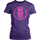 SOFM Signature Pink Logo Women's Fit Soft Tee