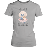 So-Shell Distancing Caffeinated Women's Fit Soft Tee