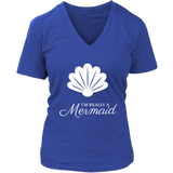 Really a Mermaid Women's Premium V-neck