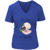 So-Shell Distancing Laptop Women's Fit Premium V-Neck Tee