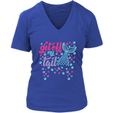 Get Off My Tail Women's Fit Premium V-Neck
