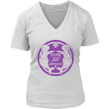 SOFM Signature Purple Premium Women's V-Neck