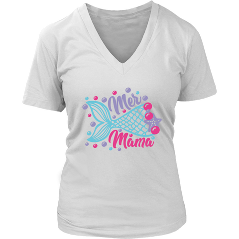 Mer Mama Premium Women's Fit V-neck