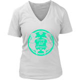SOFM Signature Green Women's Premium V-Neck