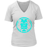 SOFM Signature Blue Women's Premium V-Neck