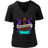 #MerfolkForBlackLives Merman Women's Fit Premium V-neck