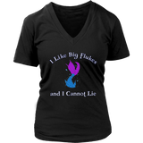 Big Flukes Women's Fit Premium V-neck