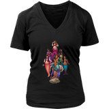Squad Women's Fit Premium V-neck