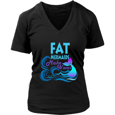 Make Waves Women's Fit V-Neck