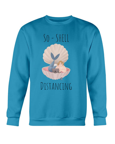 So-Shell Distancing Caffeinated Crew neck Sweatshirt