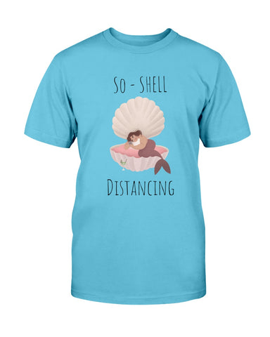 So-Shell Distancing Cell  Basic Unisex Tee