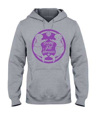 SOFM Signature Purple Logo Grey Hoodie & Sweatshirt