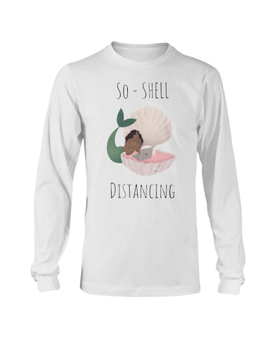 So-Shell Distancing Laptop Long Sleeve T-Shirt