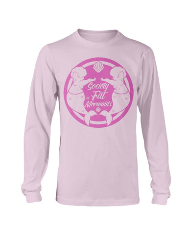 SOFM Signature Pink Logo Long Sleeve T-Shirt