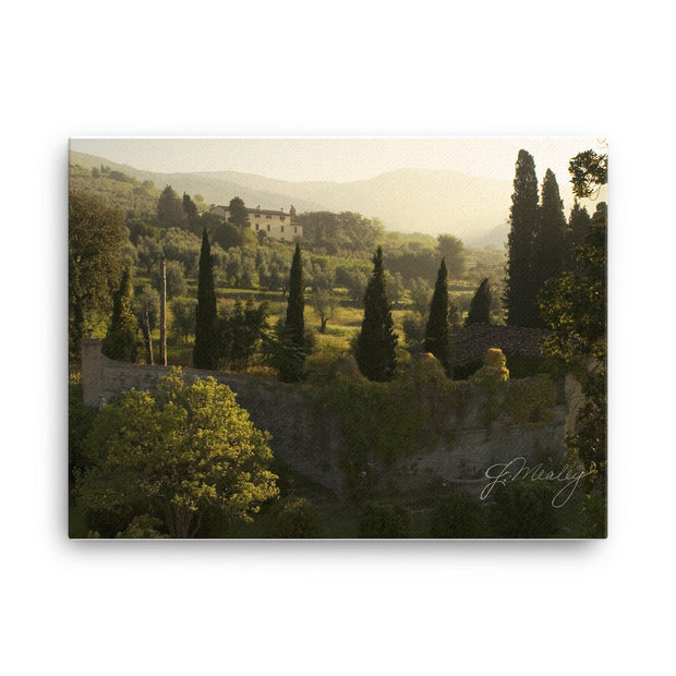 Tuscany Morning Canvas