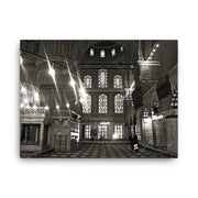 Blue Mosque Canvas
