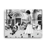 Pigeons of San Marco Canvas