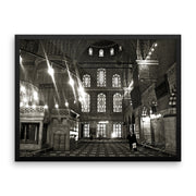 Blue Mosque Framed Art