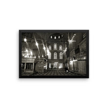 Blue Mosque Framed poster