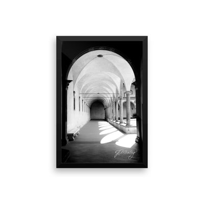 Chasing Light Framed Print