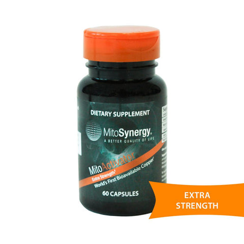 MitoActivator Copper One Supplement Extra Strength - 60 Capsules