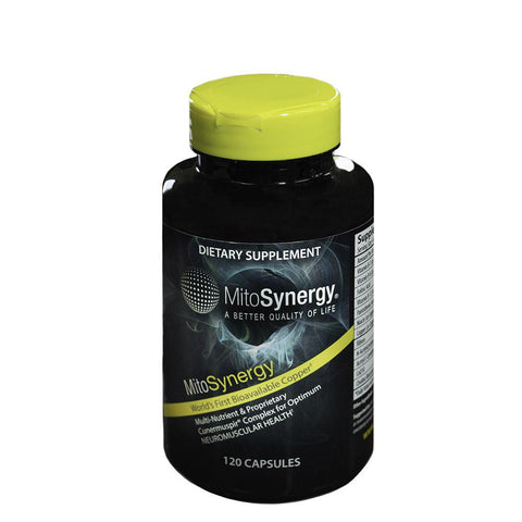 MitoSynergy Copper 1 Advanced Formula - 120 Capsules