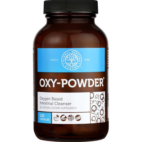 Oxy-Powder Natural Colon Cleanser - 120 Capsules