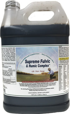 Supreme Humic Fulvic Acid Supplement One Gallon Jug