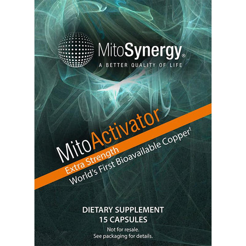 MitoActivator Copper One Supplement Extra Strength Trial Size