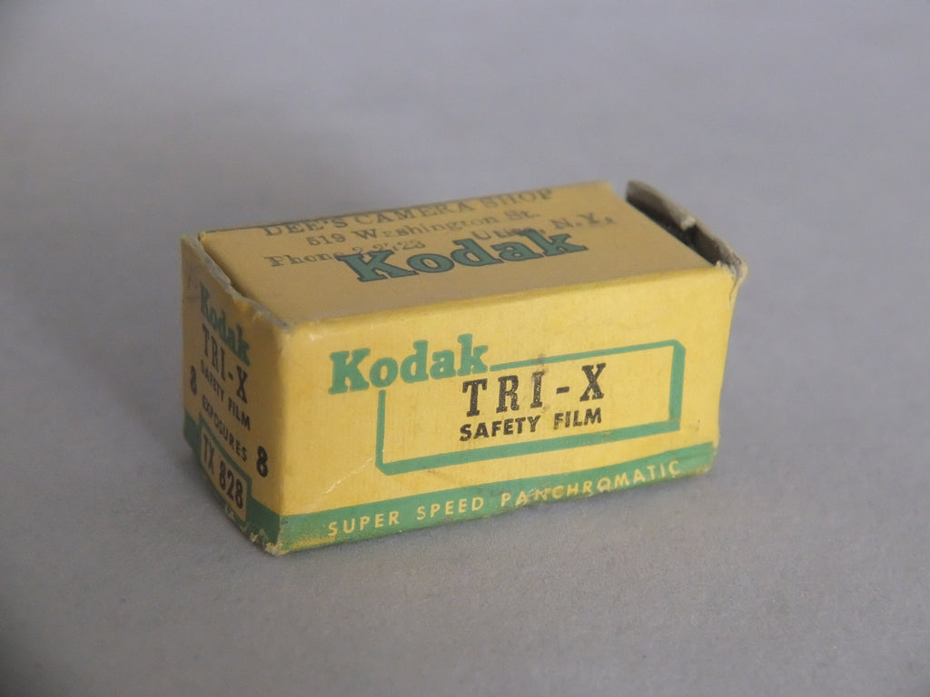 Kodak Tri-X Black & White 828 Film, Expired Jul. 1957