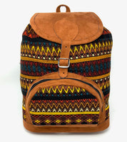 Woven Backpack - Assorted colors