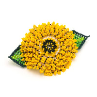 Sunflower Barrette - Yellow