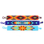 Native American style bracelets glass beads Guatemala