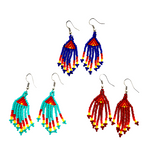 Nativo Fringe Earrings - Mini - Assorted Colors