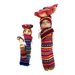 Worry doll magnets handmade in guatemala