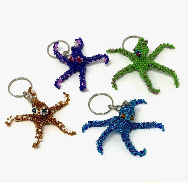 Keychain Octopus Small- Assorted