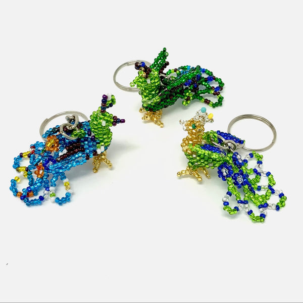 Keychain - Peacock - small