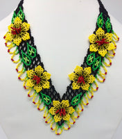 V in Bloom Necklace - Assorted Colors