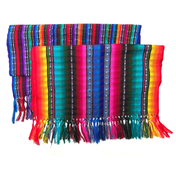 Shawl - Assoted Bright Stripes