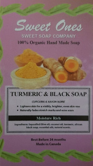 Turmeric & Black Soap