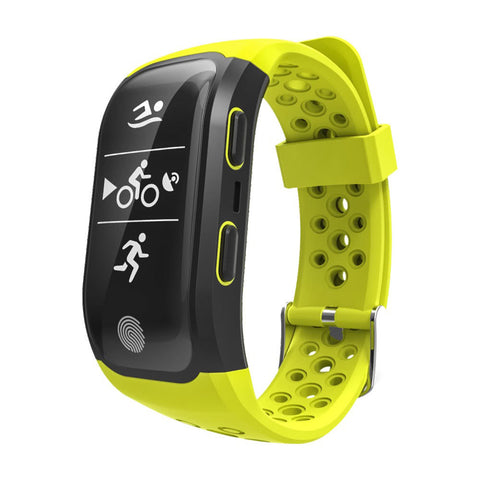 Yellow Fitness Tracker