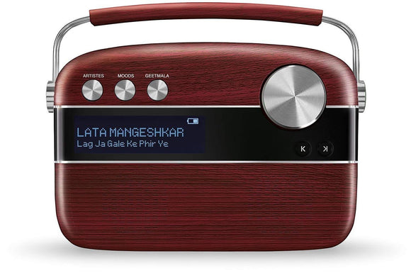 SAREGAMA CARVAAN CHERRYWOOD RED BLUETOOTH SPEAKER
