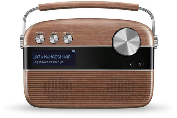 Saregama Carvaan Bluetooth Speaker OAKWOOD