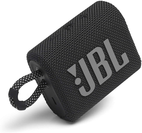 JBL Go 3: Portable Speaker with Bluetooth, Built-in Battery, Waterproof and Dustproof Feature