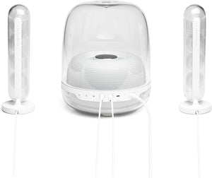 Harman Kardon SoundSticks 4-2.1 Bluetooth Speaker System with Deep Bass and Inspiring Industrial Design