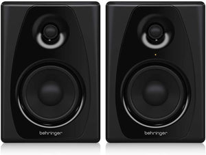 Behringer 50USB Studio 150W Bi-Amped Reference Studio Monitor Speakers with USB Input
