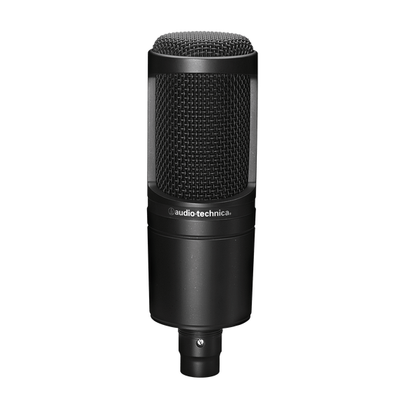 Audio Technica Side-address cardioid condenser microphone  AT2020