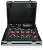 Behringer DIGITAL MIXER X32 COMPACT-TP 40-Input, 25-Bus Digital Mixing Console with 16 Programmable MIDAS Preamps, 17 Motorized Faders, Channel LCD's, 32-Channel Audio Interface and Touring-Grade Road Case